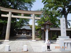 小山市役所から少し歩いたところに須賀神社があります。