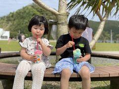とある公園 暑いのでカキ氷タイム 1つ200円 やっす!w