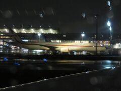 羽田空港に戻ってきましたが、まだガルーダが停まっていた