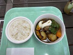 少し遅めのお昼ご飯でスープカレーを頂きました。