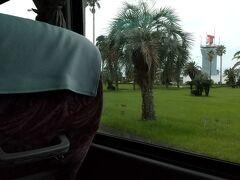宮崎空港からはバスでホテルへ。