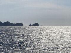 大隅半島の先、本州最南端のアナウンスが。 佐多岬、未踏の地です