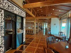 ロープウェイ山頂にあるレストラン&カフェ THE ROYAL HOUSE 数々の豪華列車のデザイン手掛けた水戸岡鋭治さんがデザインしたレストランです。 ここ下田はその水戸岡鋭治さんが手掛けたロイヤルエクスプレスの停車駅なので、こちらのレストランも手掛けたそうです。