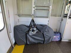 15:10 天竜峡駅で乗り換えます。