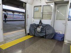 18:29 豊橋駅で東海道線に乗り換えます。