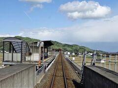 すぐに川辺宿駅に到着