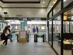 沼田駅から上越線で帰ります。 電車は基本1時間に1本ですが、この時間は次が93分後まで無いのでバスが遅れずに駅に着くか、ハラハラしました。