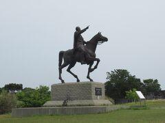 ムスタファ・ケマル・アタテュルク騎馬像 トルコの初代大統領で偉大な英雄
