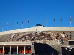 1968年に開かれたメキシコ・オリンピックのスタジアム