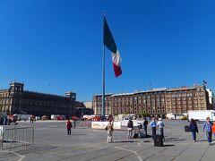 ソカロ(Zocalo) 中央広場です。