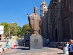 教皇ヨハネパウロ二世像 (S.S.JUAN PABLO II)