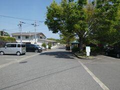 平草原公園の駐車場。ここに駐車して、平草原展望台にいきました。