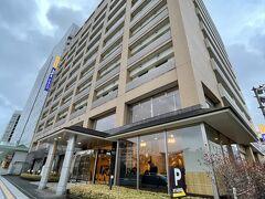今日のホテルはドーミーイン。千秋公園の向かいです。