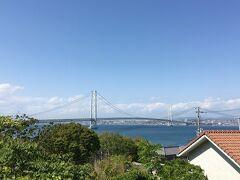 四国へは淡路島を通っていきました  明石海峡大橋