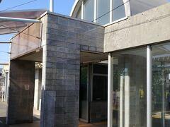 09:00ぐらい 海の中道の公園も過ぎて 終点西戸崎の駅到着します