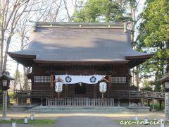 弘前公園内にある「護国神社」にお詣り。