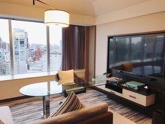 ザ・プリンスパークタワー東京に宿泊