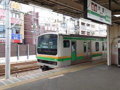 ★12:10 この後は近郊区間の制度を応用するため、白岡から大宮駅へ。 丁度東京方面からやって来た電車からは、結構な人が下車していました。東京の商業施設を閉めれば、電車で都内からあっという間に来れちゃう大宮や川崎等に人が流れるのは当然のことです。