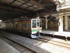 ★13:40 1時間半の乗車で高崎駅に到着。