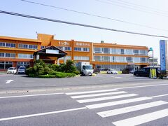 """最高に旨い海の幸をいただいき満腹になったところで2泊目の宿""""飯岡潮騒ホテル""""にチェックイン、今日も楽しい一日が過ごせました ※翌朝のホテルの写真です"""