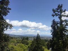 下を見下ろすと、とても良い景色でした^ ^ お天気良くて良かったです!
