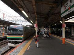 ◆旅行本編 ▽5月7日(金) 1日目 旅の出発は大船駅。東海道線・熱海行きで湯河原へ向かいます。