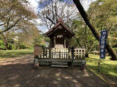 野見宿禰神社、お相撲の神社でした。 横には土俵もあり、