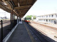 石下駅から再び常総線に乗り、終点・下館駅に到着です。そして乗換時間が3分ほどしかないので慌ただしく真岡鐡道に乗り込みます。真岡鐡道は2年ぶりの乗車です。