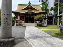 熊野神社。 鳥居も立派でしたが、見所はもっと別に有りました。