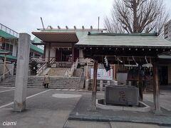 森下の駅から5分で、深川神明宮。  深川開拓した人で、地名の由来にもなった人、深川八郎右衛門さんが創建した神社。