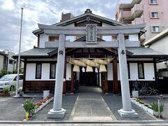 長居公園を離れて公園北側の住宅街にある出雲大社大阪分院へ! 住宅街にありますのでお参りに来られる方は、ごくわずかです。 先日、島根にある出雲大社へ行きましたが、こちらでもお礼とお願いします。