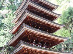 平安初期800年頃の建立、室生山中では一番古い建物。 国内では法隆寺の五重塔の次に古い塔です。 平成10年の台風で、周囲の木々が倒れてしまう被害を受けた後に修復され、今の姿に。