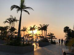 フサキビーチリゾート に戻ってサンセットを迎えます。本当にどこを撮っても美しいわー