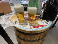 【ビールスタンド重富】  最終日の帰りです。新幹線乗る前に飛び込みました 駅ビルに入ってた、美味しいビールが飲めるお店
