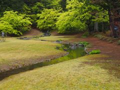 <遣水> 山水を池に取り入れるための水路でクネクネ 見たことある♪