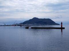 函館山が見える