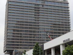 2022年5月開業予定のウェスティンホテル横浜。 ついにその姿を現した。  みなとみらいから湾岸線へ。