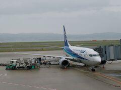 札幌行きの機材は、B737でした。