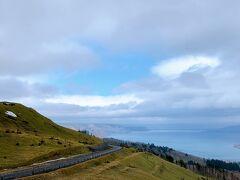 70kmほど走った先にあった美幌峠も曇ってはいたけど、時々青空も見えました!