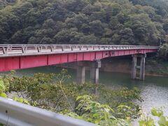 源平合戦で有木谷に落ち延びたと言われる平有盛にちなんで名前が付けられた有盛橋です。2004年8月の台風15号では土石流が発生して有木地区では死者2名発生し、この県道が不通になり孤立化したそうです。
