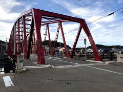 輪島を舞台にしたドラマがあったらしく、その中でよく出てきた橋だそうです。 NHKの朝ドラかな?