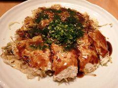 ねぎ房Zで前日はお好み焼きを食べました。 広島のお好み焼きはボリュームがありますね。