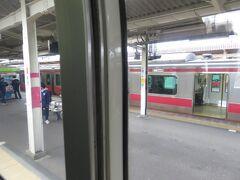 蘇我駅から内房線