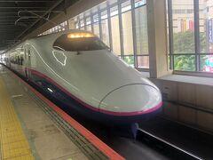 大宮駅8時49分発新潟駅行き、とき307号へ乗車。