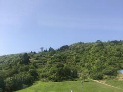 関東地方はどんより曇り空だったが、国境の山を越えると晴れていた。