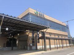 20分ほど乗り、初めて降りたJR豊栄駅。