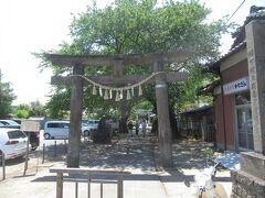 一度公園を抜けて前玉神社に行きます。 前玉でさきたまと読むんですね。