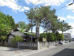 忍城へ向かう途中にある行田八幡神社を勧められていたので立ち寄りました。