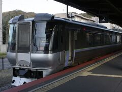 まずは特急すずらんで室蘭駅へ行きました。 貴重な785系Uシートを堪能