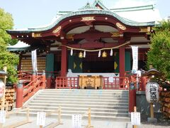 「亀戸天神社」本殿にお参り